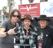 Michael Jost, Hailey Demian and Peter Demian – Venice Beach Music Festival