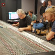 Ulli Schiller and Dirk Andre at the console