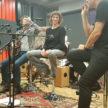 Wolf Schubert-k and Bine Morgenstern with Michael Jost