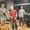 Lucas Baumeister, Holger Oest, Dirk Andre and Jakob Morschewsky