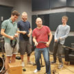 The Cable Guys – Lucas Baumeister, Dirk Andre, Holger Oest and Jakob Morschewsky