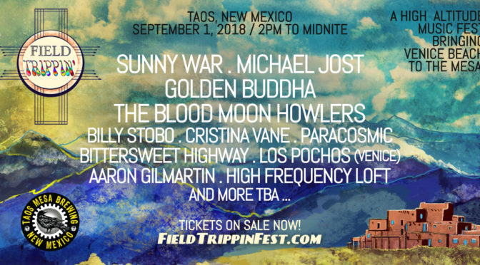 Field Trippin' Fest 2018 – Second Artist Announcement!!