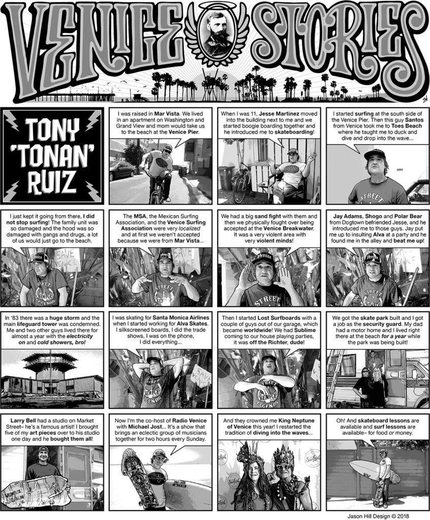 Venice Stories - Tony 'Tonan' Ruiz - Radio Venice