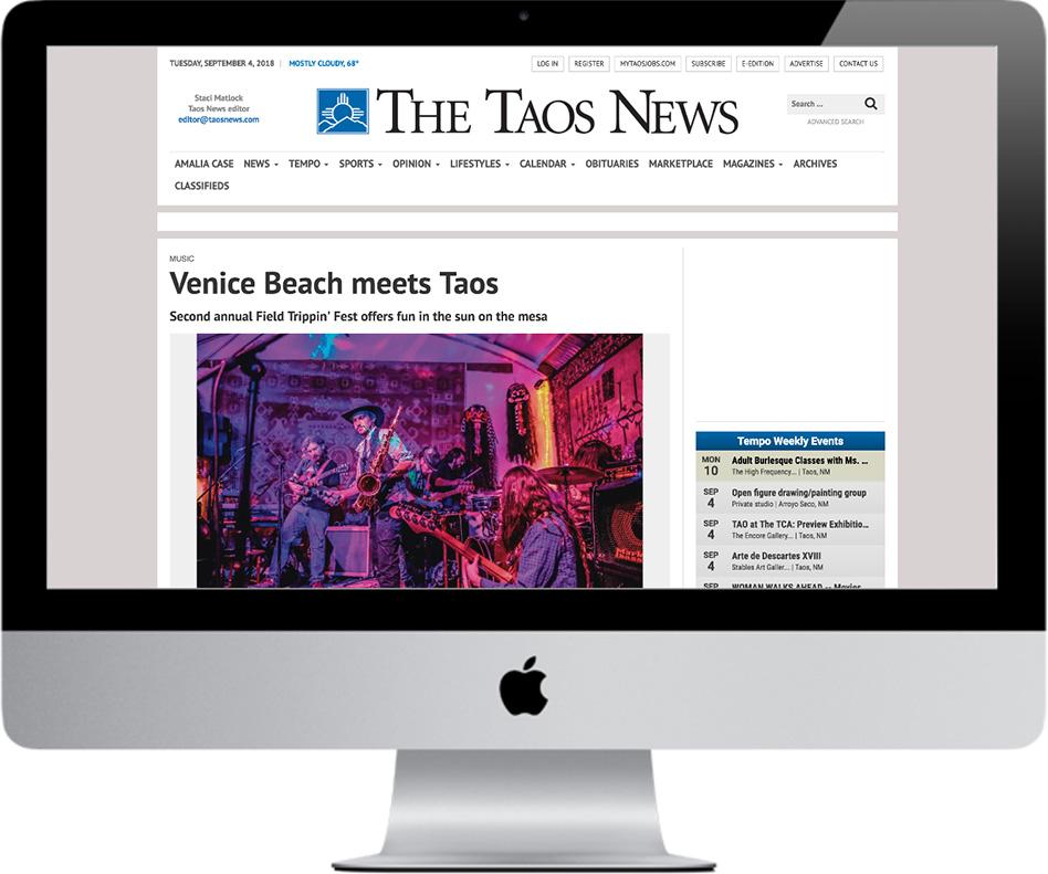 The Taos News - Radio Venice