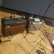 Vintage Vox and Fender amps
