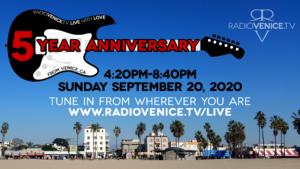 Radio Venice 5 Year Anniversary Show