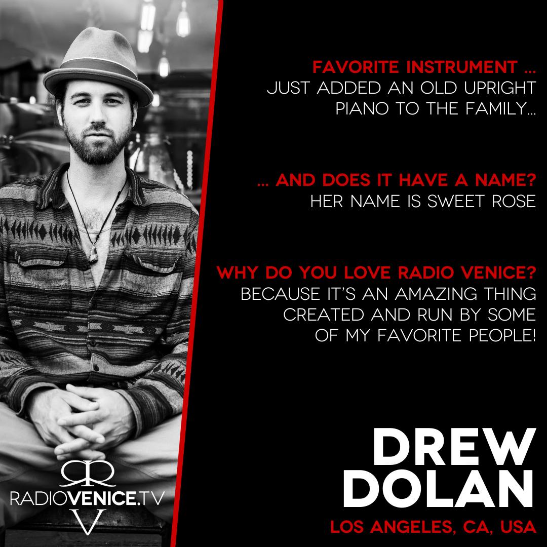 Drew Dolan Q+A with Radio Venice