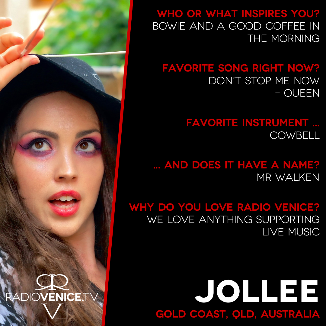Q+A with Jollee - Radio Venice