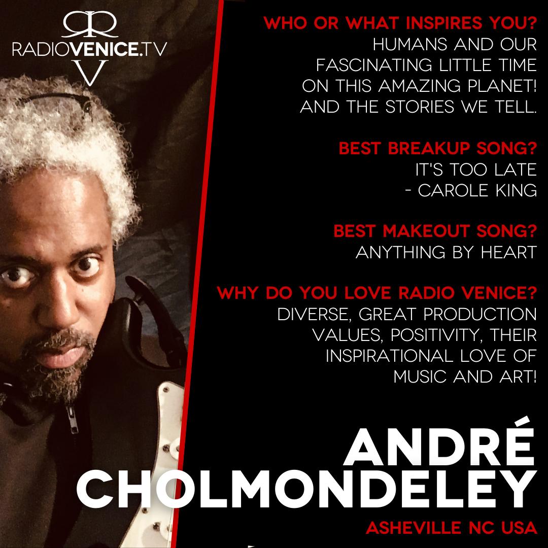QA with Andre Cholmondeley - Radio Venice
