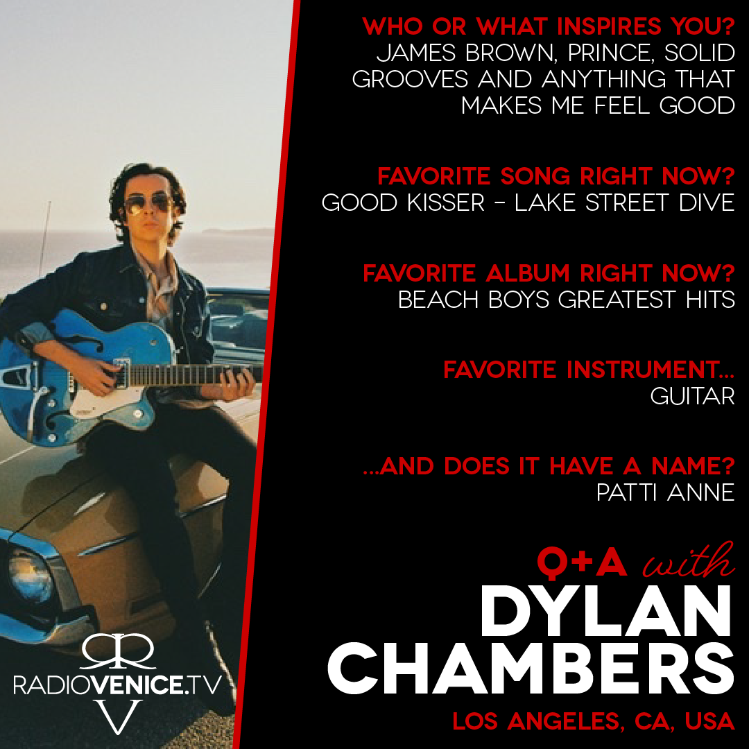 Q+A with Dylan Chambers and Radio Venice