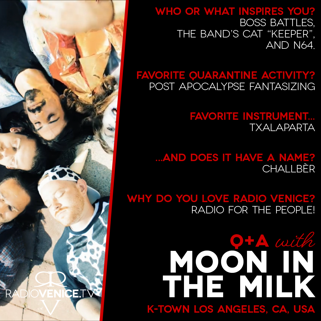 Q+A with Moon in the Milk and Radio Venice