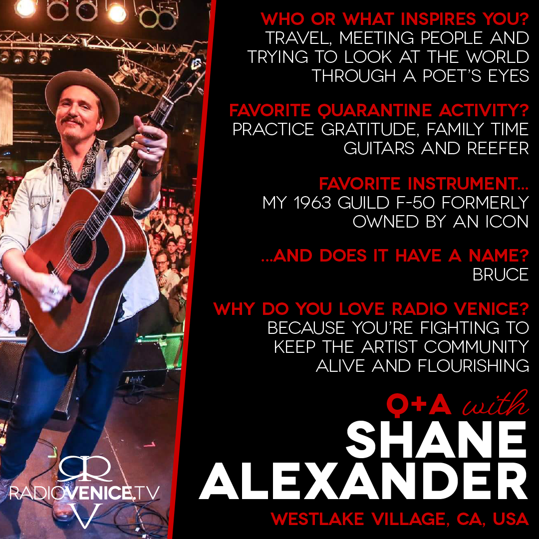 Q+A with Shane Alexander and Radio Venice