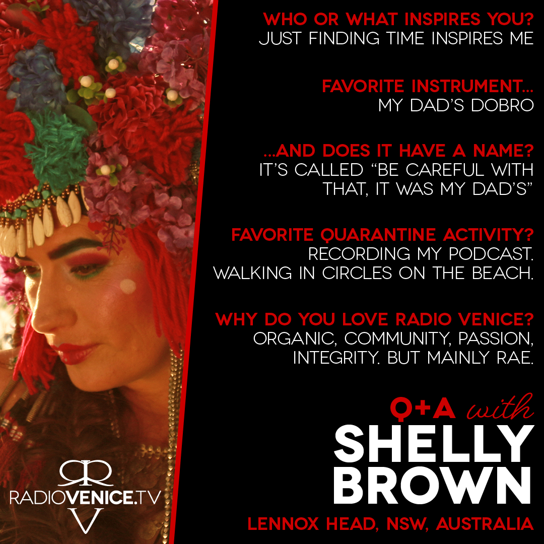 Q+A with Shelly Brown and Radio Venice