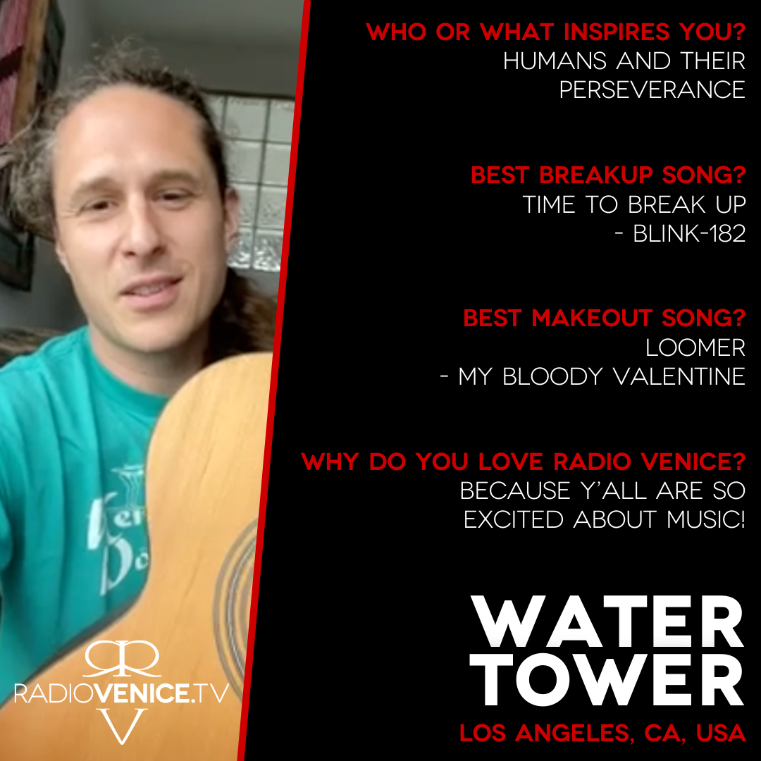 Q+A with Water Tower and Radio Venice