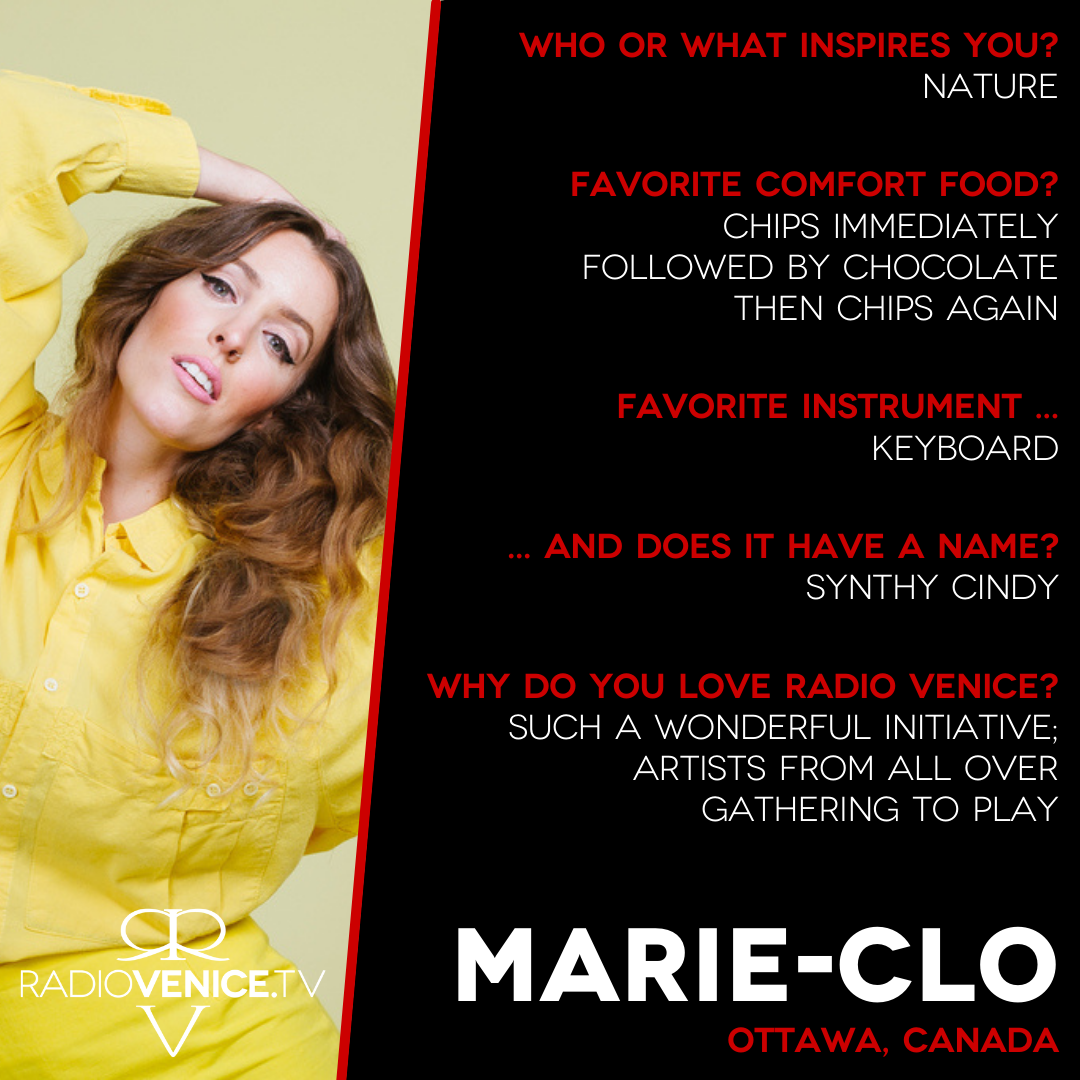 Q+A with Marie-Clo - Radio Venice