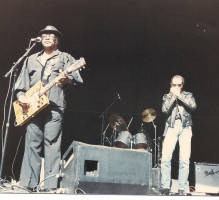 Stanley Behrens with Bo Diddley