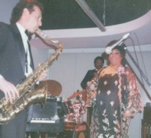 Stanley Behrens with Ruth Brown