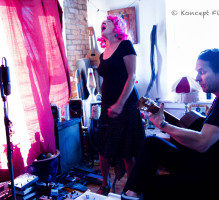 Suzy Williams and Michael Jost – Radio Venice – Photo by Karen Criswell