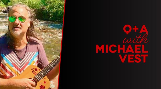 with Michael Vest