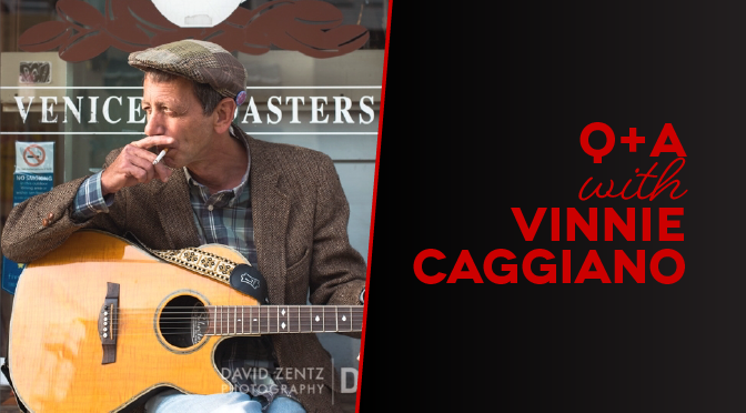 Q+A with Vinnie Caggiano - Radio Venice