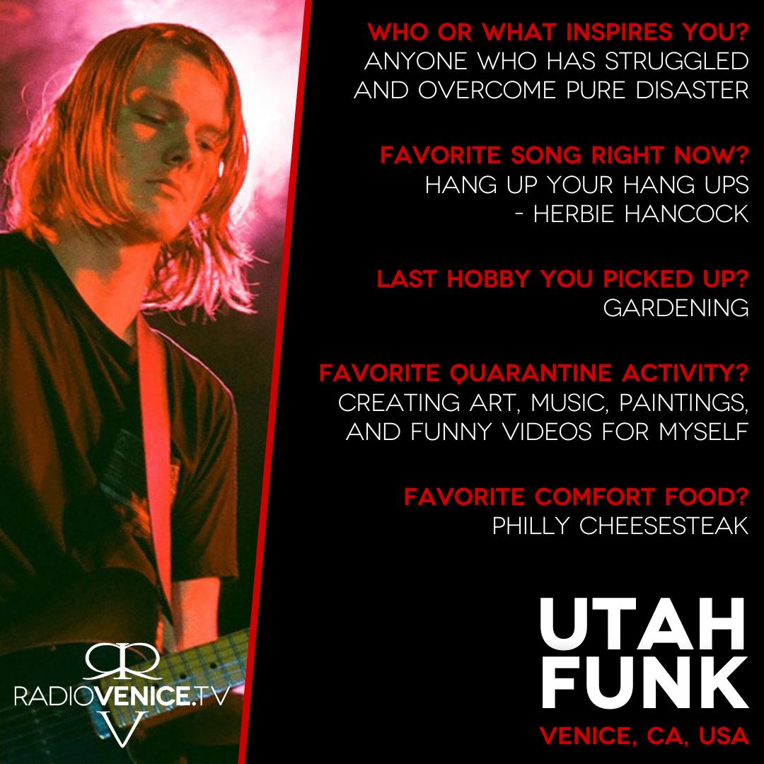 Q+A with Utah Funk - Radio Venice